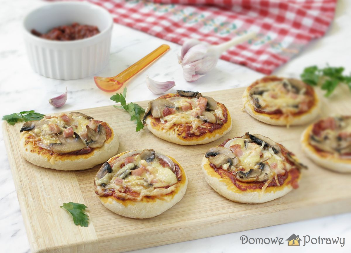 Mini pizze – pizzerinki